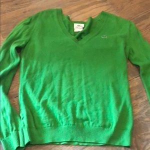 Lacoste green light weight sweater